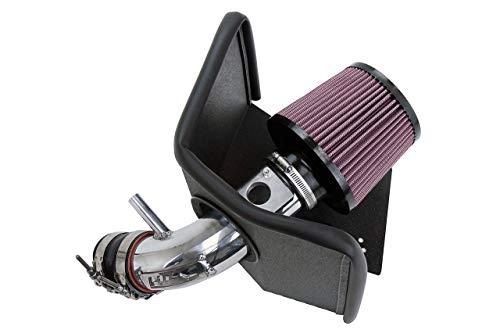 (HPS 27-619P Polish Shortram Air Intake Kit Cool Ram, 1 Pack )
