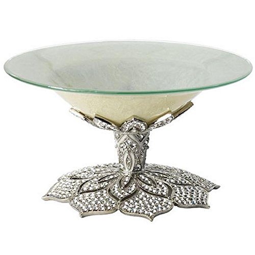 Silver WINDSOR CANDY DISH by Olivia Riegel - - Pave Candy