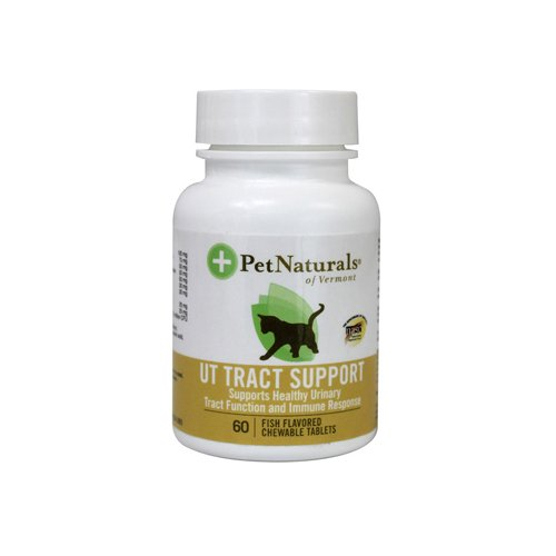 Pet Naturals of Vermont UT Tract Support Fish -- 60 Chewables