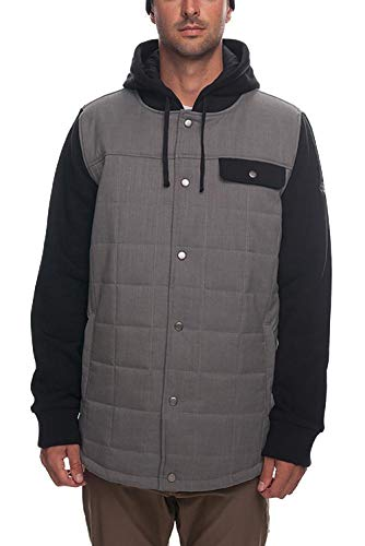 - 686 Men's Bedwin Waterproof Insulated Ski/Snowboard Jacket | Charcoal - L