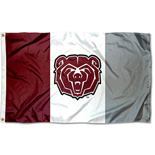 College Flags and Banners Co. Missouri State Bears State Design - Bears Missouri