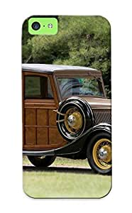 meilinF000A886ab34044 Tpu Phone Case With Fashionable Look For iphone 4/4s - 1933 Ford V8 Stationwagon (40860) Retro Woody Case For Christmas Day's GiftmeilinF000