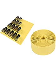 Sangle Sopffy Spice Drawer Liner, Cupboard/Cabinets Hassle Killer, Silicone Drawer Organizer for Storing,Spice Bottles.Holds up to 30(10ft Roll, Grey)