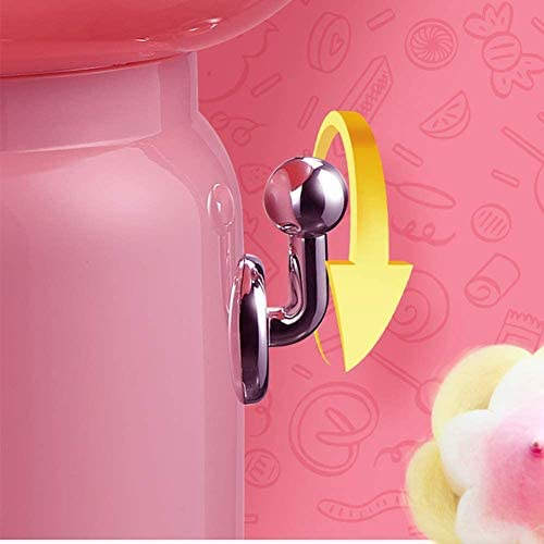 Home Use Fancy Portable Cotton Sugar Floss Machine Commercial Kids Cotton Candy Machine 220V DIY Candy Floss Maker Machine Intelligent Control Splash Proof for Family Gift