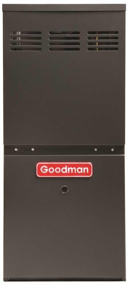 Goodman GMH80604BN Gas Furnace with 80% Afue 60K Btu Dual Saver 40 Ton by Goodman
