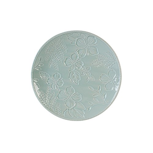 - Fitz and Floyd 21-051 English Garden salad plate, 9 in in, Blue