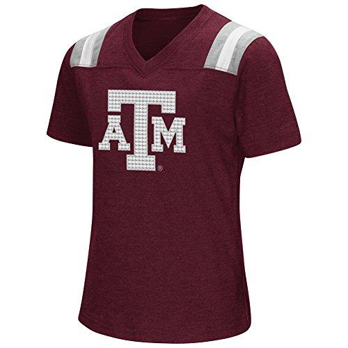 Youth Girls Colosseum Rugby Texas A&M Aggies T-Shirt (YTH (Aggie Girl)