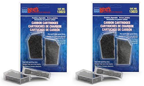 (Lee's Premium Carbon Cartridge, Disposable, 4 Pack)