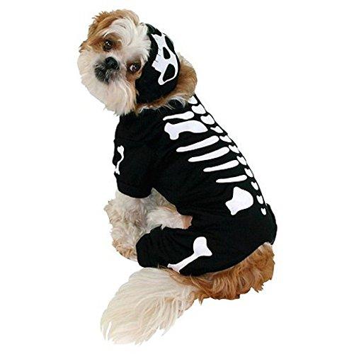 Skeleton Dog Pet Halloween Costume Medium by (Halloween Dog Skeleton Target)