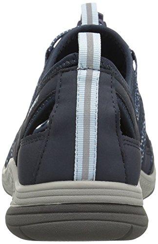 Jsport By Jambu Womens Hibiscus Walking Shoe Navy / Bianco