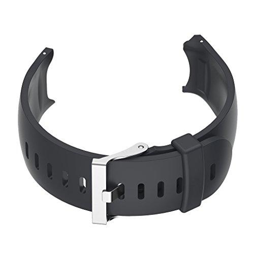 Homyl Silicone Wrist Band Replacement Strap Belt for Garmin Approach S3 GPS Golf Sports Watch - (Golf Belt Watch)