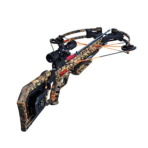 Wicked Ridge by TenPoint Invader X4 Crossbow Package with Multi-Line Scope, Quiver,...