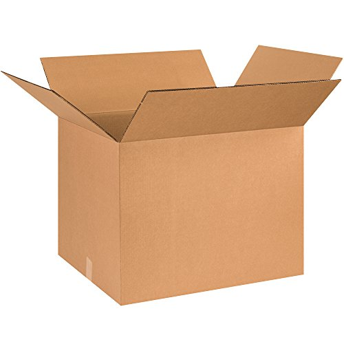 Boxes Fast BFHD262020DW Double Wall Corrugated, Heavy-Duty Cardboard Boxes, 26