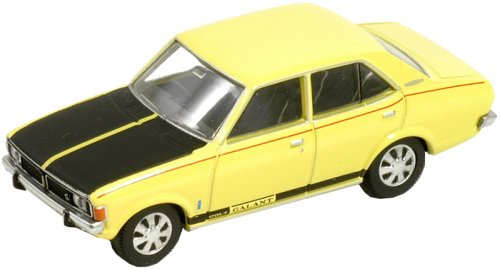 Tomica Limited Vintage TLV-45c Mitsubishi Colt Galant AIIGS (yellow) by Tomytec
