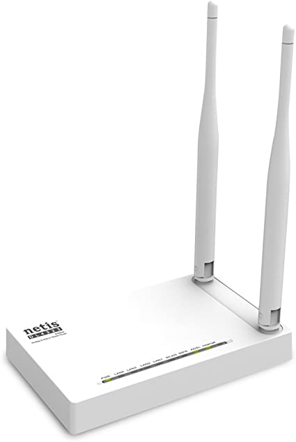 Modem Router with 4 Ethernet Ports Actiontec 300 Mbps Wireless N WiFi ADSL2