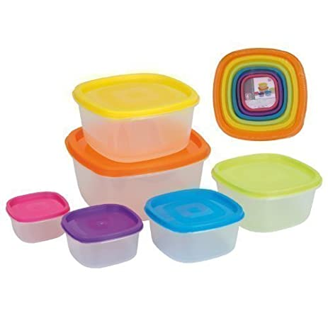 Amazoncom Excellent Houseware Storage Boxes Re Sealable Food