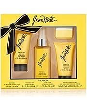 Jean Nate by Revlon 4 Piece Bath and Body Fragrance Gift Set, 3.4 fl. Oz. Fragrance Mist