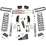 Rough Country - 348.23 - 5-inch Suspension Lift Kit w/ Premium N2.0 Shocks for Ram: 11-13 2500 4WD, 11-12 3500 4WD