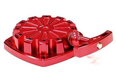 Integy RC Hobby BAJ246RED Billet Machined Pull Start Mechanism Cover for HPI Baja 5B, 5T & 5SC