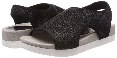 Black Women's Toe Unisa Black Open Corzo black par Sandals wqOxOnP8R