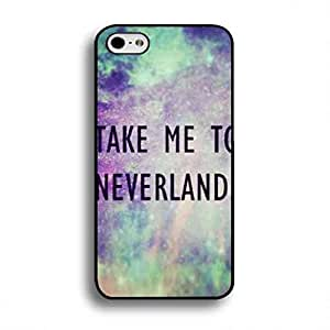 TPU Hardshell Peter Pan Phone funda Take Me To Neverland Phone Cover iPhone 6 plus/6s plus(5.5 inches) Back Cover Skin