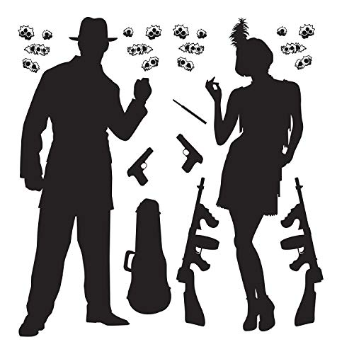Gangster Props Party Accessory (1 count) (24/Pkg) -