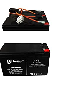 41jmiz5U3%2BL._SY300_ amazon com (1) razor high performance battery includes battery razor dirt quad battery wiring harness at readyjetset.co