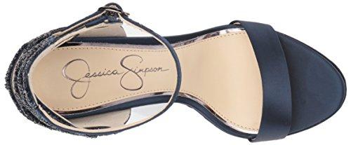 Jessica Bayvinn Nero Sandalo Tacco Delle Medio Simpson Donne Acai SzrI4zxqn