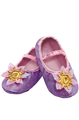 Disguise Costumes Rapunzel Slippers, Toddler, Size 6