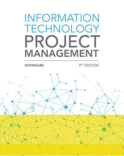 MindTap MIS for Schwalbe's Information Technology Project Management, 9th Edition [Online Code] by Cengage Learning