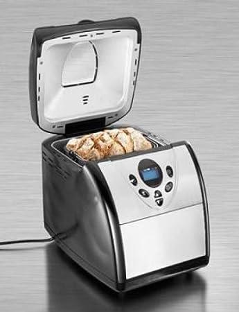 Panificadora Silvercrest KH 1172 Pastel de Masa mermelada 600 W temporizador: Amazon.es: Hogar