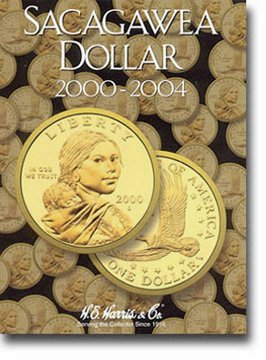 Harris Coin Folder – Sacagawea Dollars Folder 2000-2004 #8HRS2715 by H.E. Harris