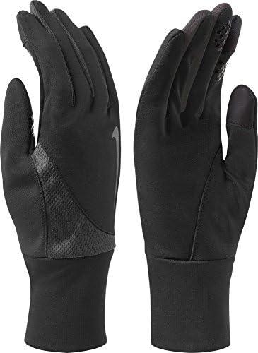 メンズDri - Fit Tailwind Run Gloves ( Small , Black / Anthracite )