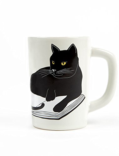 """ Bookstores. Cats."" Life is Sweet. Beverage Mug"