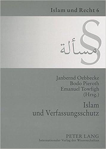 Islam Und Verfassungsschutz: Dokumentation Der Tagung Am 7. Dezember 2006 an Der Universitaet Muenster (Islam Und Recht)
