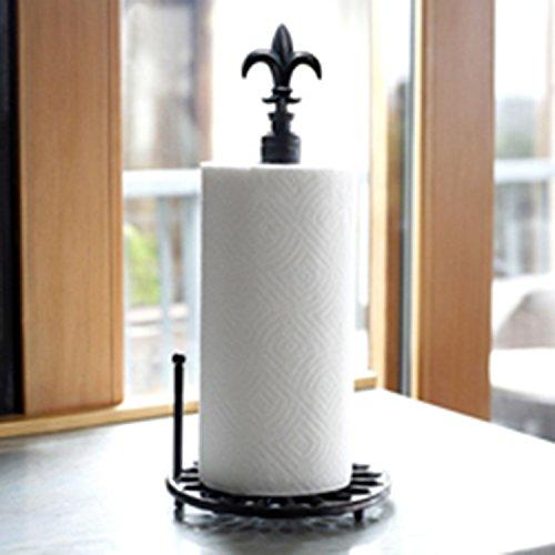Mesa Fleur De Lis Collection Paper Towel Holder, Antique (Fleur De Lis Paper)