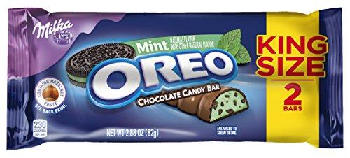 Oreo Mint Chocolate Bar, King Size, 2.88 oz]()