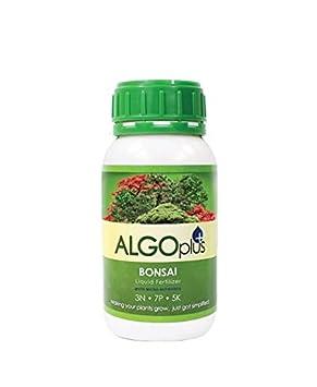 AlgoPlus - Fertilizante líquido para árbol de Bonsai (250 ml), con magnesio y micronutrientes: Amazon.es: Jardín