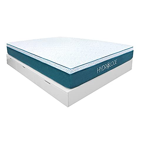 Hydrologie Cool Mattress - Best cooling mattress technology with gel memory foam and cool to the touch out cover; soft plush top with medium firm support - Gel Cooled