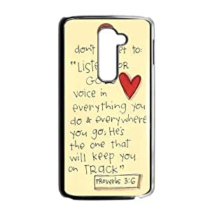 Canting_Good Christian Quote Bible Verses Pattern Print Custom Case for LG G2