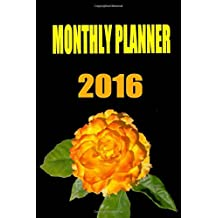 2016 Monthly Planner