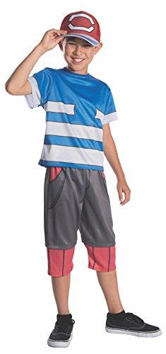 Rubie's Pokemon Child's Ash Costume, ()