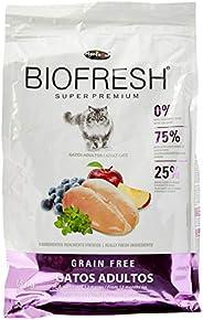 A Ração Hercosul Biofresh para Gatos Adultos Biofresh Raça Adulto, Sabor Frango Fresco, Frutas e Vegetais, 1,5