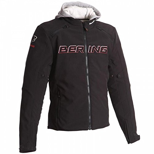 Price comparison product image Bering Motorcycle Jaap Evo Jacket Black Red