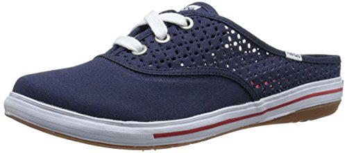 Keds Women's Briggsy Slip-On Mule, Navy, 7.5 M US