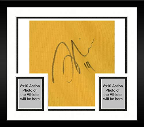 Framed Jack Price Colorado Rapids Autographed Match-Used Yellow #19 Jersey from the 2018 MLS Season - Fanatics Authentic Certified