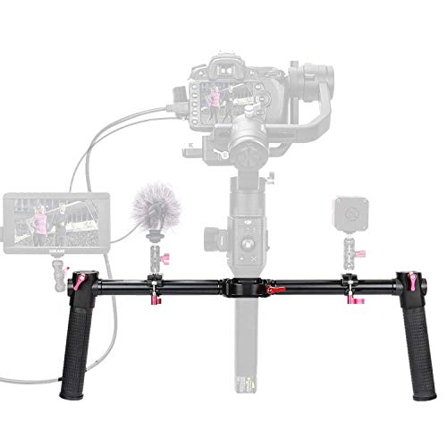 ANDYCINE Gimbal Dual Handle Grip Handlebar Scratch Proof Anti-Slip Compatible with DJI Ronin S/Ronin SC/Moza Air 2
