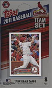 2011 Topps Limited Edition St. Louis Cardinals Baseball Card Team Set (17 Cards) - Not Available In Packs!!