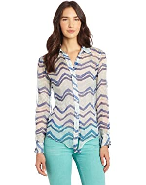Women's Terrenea Stripe Jane Top