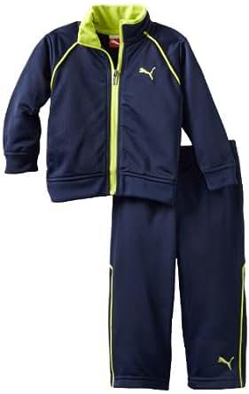 PUMA   Kids Baby Boys' Tech Tricot Set, Navy, 24 Months